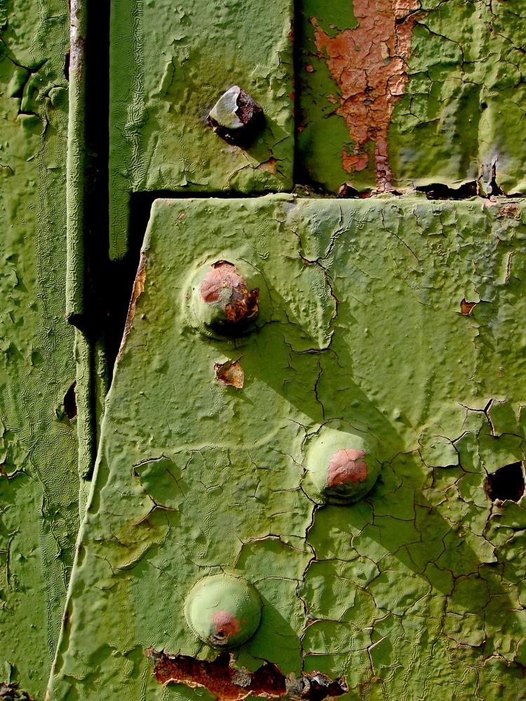 Abstract-green door detail IMG_3857
